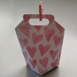 Boîte cadeau cœurs