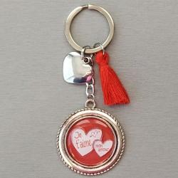"""Porte-clés """"Je t'aime mon..."""