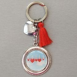 Porte-clés cœurs