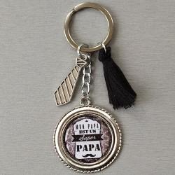 Porte-clés Papa