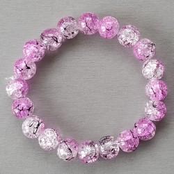 Bracelet perles en verre
