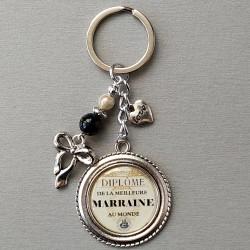 Porte-clés Marraine