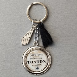 Porte-clés tonton