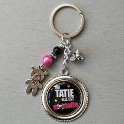 Porte-clés Tatie