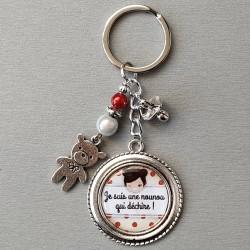 Porte-clés Nounou