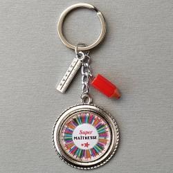 Porte-clés Maîtresse