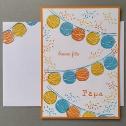 "Carte ""Bonne fête Papa"""