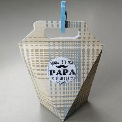 Boîte cadeau Papa
