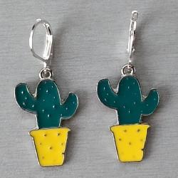Boucles d'oreilles Cactus