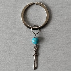 Porte-clés avec pierre...